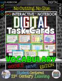 GO Interactive™ Digital Task Cards  Vocabulary Google Edition