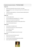 GREAT GATSBY QUESTIONS
