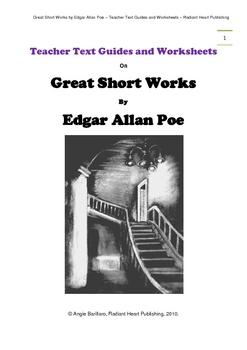 GREAT SHORT WORKS OF EDGAR ALLAN POE - WORKSHEETS