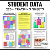 GRIT Trackers: Student Data Notebooks