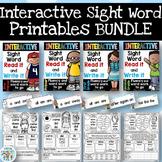 GROWING BUNDLE Interactive Sight Word Printables
