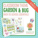 Garden/Bug Themed Classroom Decor & Back-to-School Essenti