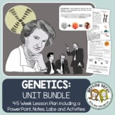 Genetics Curriculum Unit - PowerPoint & Handouts