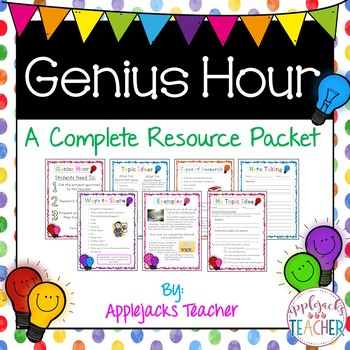 Genius Hour - A Complete Resource Packet