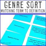 Genre Matching Cards