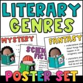 Literary Genre Posters {Plus: Genre BINGO, Reading Log, &
