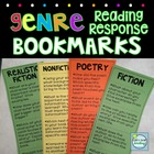 Genre Reading Response Bookmarks