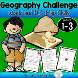 Geography Challenge {gr 1-3}