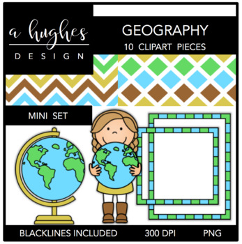 Geography Mini Set {Graphics for Commercial Use}