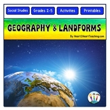Geography Activity Pack with Flip Up Book