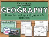 Geography of Canada: Physical Features Notes & Activities (SS6G5)