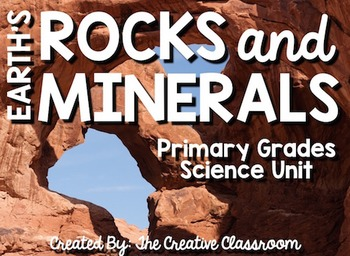 Geology Unit- Rocks, Minerals, and Layers of the Earth