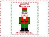 Geometric Nutcracker for Christmas