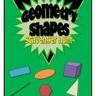 Geometrical Shapes Scavenger Hunt