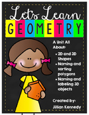 Geometry: 2D and 3D Shapes
