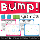 Geometry Bump Games: Lines and Angles, Identifying Polygon