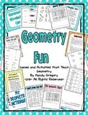 Geometry Fun: A Supplemental Unit