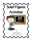 Geometry-Solid Figures  Activities 2nd Grade