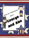 George and Abe: Presidents Day Read for Information