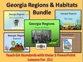 Georgia Regions & Habitats Mega PowerPoint Bundle