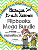 Georgia Science 3rd Grade Flipbooks BUNDLE (Interactive No