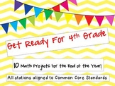 Get Ready for 4th Grade!  10 Math Projects To Begin the Sc
