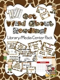 Get Wild About Reading Library Media Center Pack {NOW with