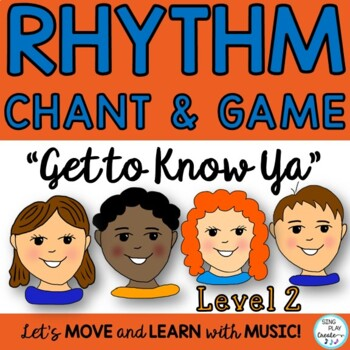 "BACK TO SCHOOL Grade 4-7 NAME RHYTHM GAME LESSON ""Get to K"