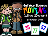 Get your students up and moving with a 120 number chart!