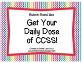 Getting to the Core: Daily Dose of CCSS