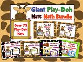 Giant Play-Doh Mats Math Bundle