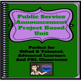 Gifted and Talented - Public Service Announcements:  A Pro