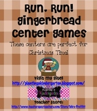 Gingerbread Christmas Center Games (7 games included!)