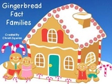 Gingerbread Fact Families (SMARTBoard Lesson)