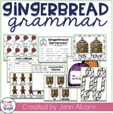 Gingerbread Grammar:  Activities for Speech Therapy & Classrooms!