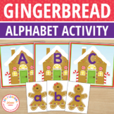 Gingerbread Letter Match Freebie:  Gingerbread ABC for Pre