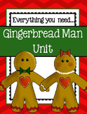 Gingerbread Man ~ Everything you need for a Gingerbread Man Unit!