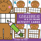 Gingerbread Man Ten Frames