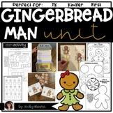 Gingerbread Man Unit { literacy, math, snack, art } Common