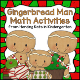 Gingerbread Math! Common Core Aligned Math Activities!