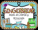 Gingerbread: Math & Literacy Activities Pack