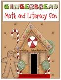 Gingerbread Math and Literacy Fun