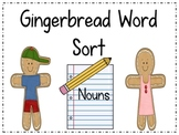 Gingerbread Word Sort