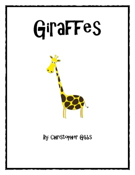 Giraffe and Zebra Nonfiction Text
