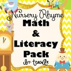 Nursery Rhyme Math & Literacy Unit Preview