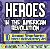 American Revolution: Women & African-Americans! Giving Cre