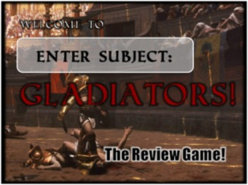 Gladiators - Customizable PowerPoint Review Game