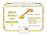 Global History and Geography I (Whole Course Part 3), Worl