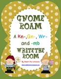 Gnome Roam and Write the Room {gn-, kn-, wr-, -mb}