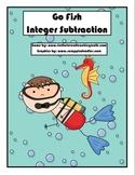 Go Fish - Subtracting Integers